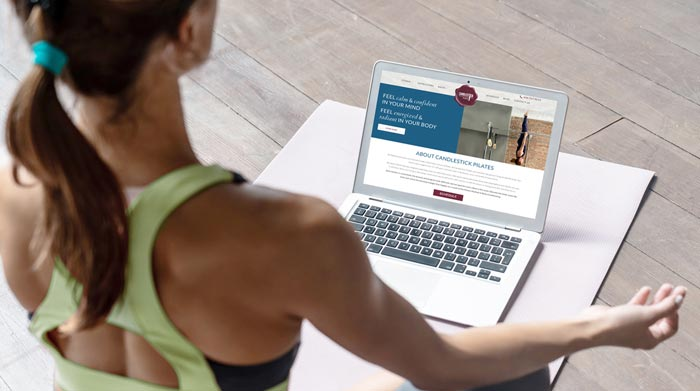 Website Design for Yoga Studio, Fitness Studio and Pilates Studio