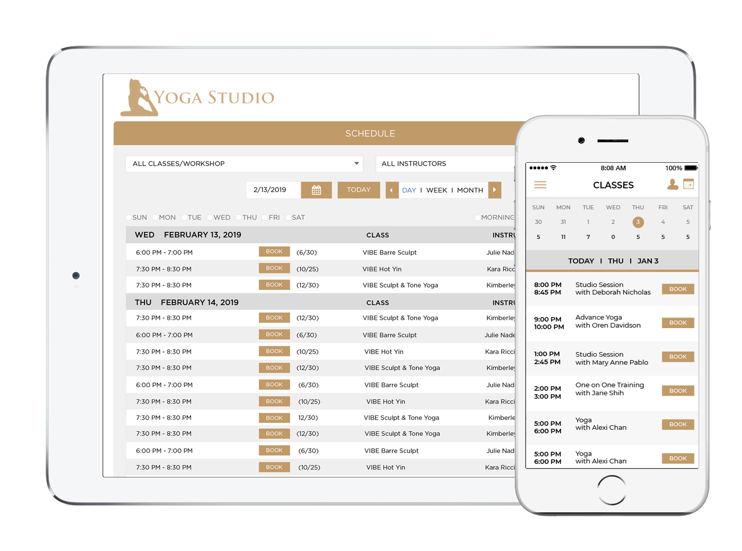 Yoga Software - Scheduling, Management and Appointments